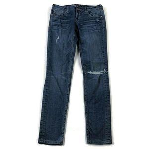 Vigoss The Thompson Skinny Distressed Jeans